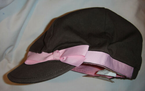 Crazy 8 hat 4 5 6 7 8 9 10 12 14 UPICK NWT brown pink red straw pageboy ear muff