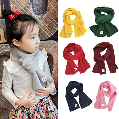 Infant Scarves Neck Wraps Scarf Baby Boy Girls Toddler Kid Shawl Neckerchief New