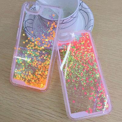 Fluorescent Dynamic Glitter Quicksand Paillette Case Cover For iPhone 5 6 6plus