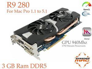 Radeon-R9-280-for-Mac-Pro-3-1-5-1-AMD-3GB-Ram-GDDR5-GPU-940Mhz-4k-Metal