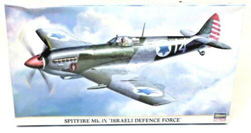 Hasegawa Spitfire Mk.ix Israeli Defence Force 1//48 Model Kit P//N 09506