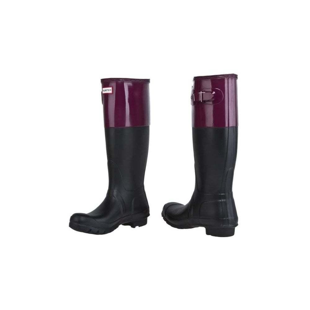 Hunter botas Ltd Para Mujer Mujer Mujer Original Color En Bloque Wellies 4e0ff4