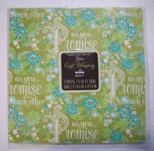 Vintage-Wedding-gift-wrap-wrapping-paper-As-you-Promise-each-other