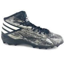 official photos 3e7ec 73682 ADIDAS Mens Freak MD Snakeskin Print Football Cleats B49385 Black  Gray  ...
