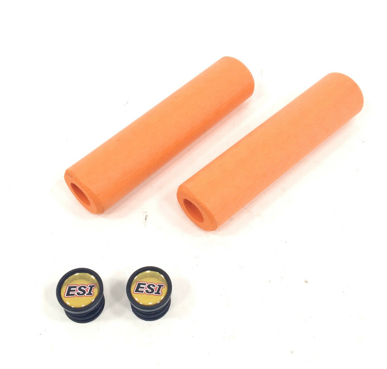 Orange ESI EXTRA Chunky 34mm Soft Bike Grips 130mm Lightweight 80g MTB