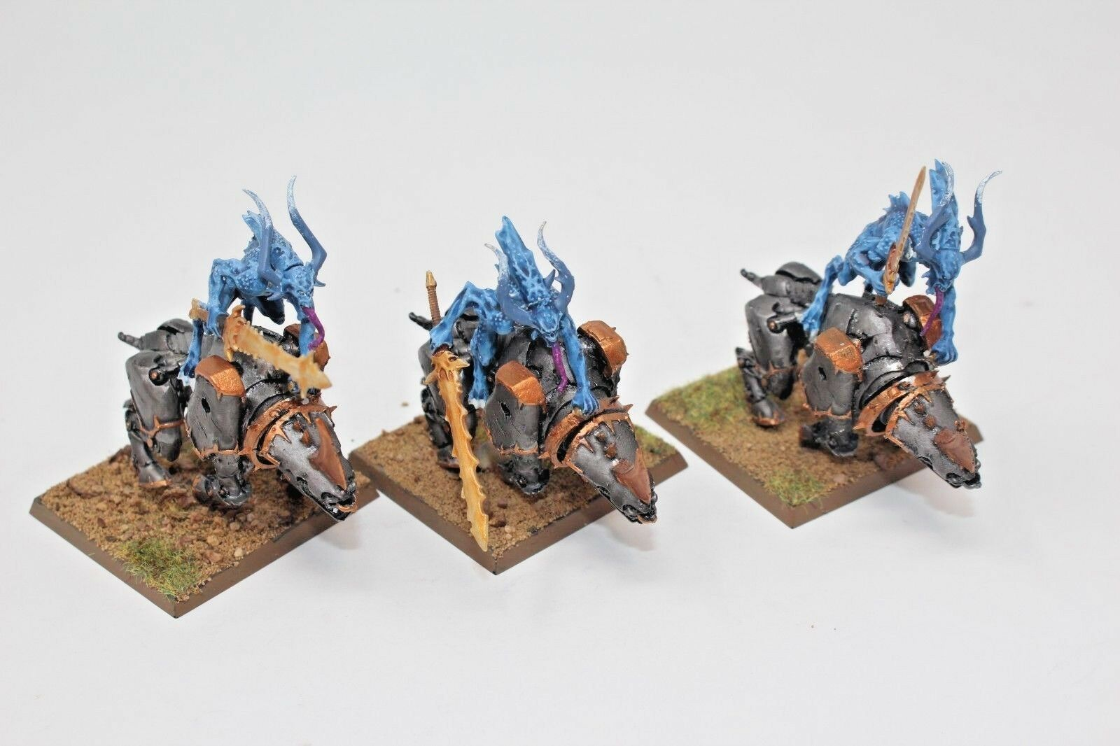 Warhammer Chaos Daemons Bloodcrusher Well Painted - JYS20