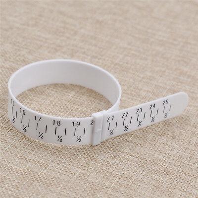 Plastic Bracelet Sizer Gauge Adjustable Bangle Measures 15-25cm Jewelry Making Bracelet Sizing Tools DIY Tool Jewelry-Making Tools