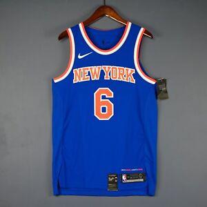 Image is loading 100-Authentic-Kristaps-Porzingis-Knicks-Nike-Knicks-Jersey- da0a07db0de1