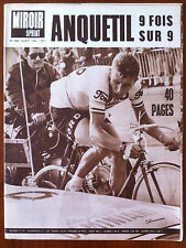 Miroir Sprint 26/09/1966; Anquetil 9 fois sur 9/ Busnel/ Rugby Mont De Marsan