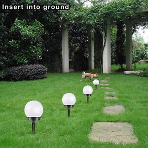 Détails sur 2/4 / 8xLED Lampe solaire d\'extérieur à énergie solaire pour  jardin