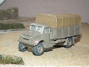 Britisch-Bedford-Kubeldak-3-Tonne-Lkw-Gebaut-amp-Bemalt-1-76-Massstab-46483