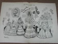L' ART ET LA MODE - 1893 - No 24 - ILLUSTREE - LE GRAND PRIX DE PARIS 1893 race