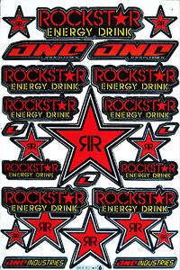 Details About Motorrad Aufkleber Sponsoren Rennsport Motocross Bike Auto Decals Stickers R6