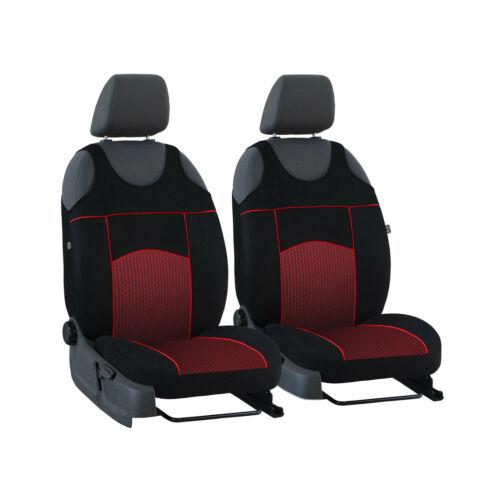 Universal Schonbezüge Rot für Mercedes Sprinter III Vordersitze Autositz Bezug