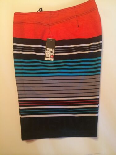 quiksilver board shorts men/'s cerrano 21 inches long color red kvj3