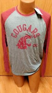 NCAA-WASHINGTON-STATE-COUGARS-MENS-LONG-SLEEVE-SHIRT-SIZE-LARGE-BRAND-NEW