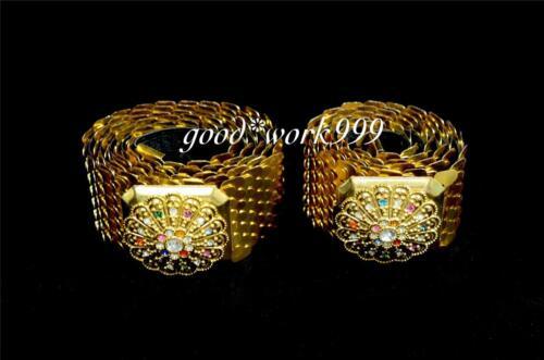 JW109 PLUS SIZE GOLD BELT THAI DANCE COSTUME THEATER DANCING TRADITIONAL DRESS