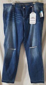 87aa6c4de40 Almost Famous Rue 21 Skinny Jeans Pants Juniors Plus Size 20 NWT