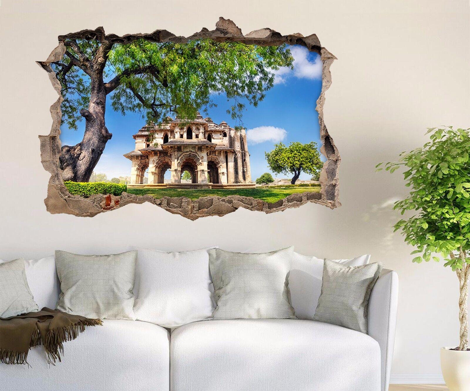 3D Torre Pascoli 318 Parete Murales Adesivi Decal Sfondamento AJ WALLPAPER IT