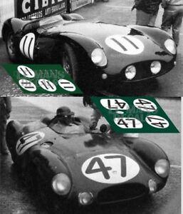 Calcas Alfa Romeo 12C Vanderbilt Cup 1936 8 1:32 1:43 1:24 1:18 Nuvolari decals