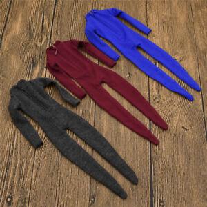 Blau-Rot-Schwarz-1-6-Scale-Jumpsuit-Spielzeug-Soldaten-Overall-Zubehoer-Geschenk