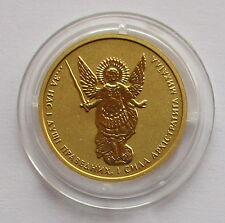 Selten!!1/10 Unze Gold Münze Ukraine 2 Griwna 2015, ARCHANGEL MICHAEL