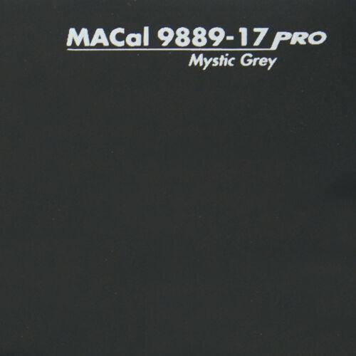 Plotterfolie schwarzgrau glänzend Selbstklebefolie 61,5 cm 1 m 13,95 € //m