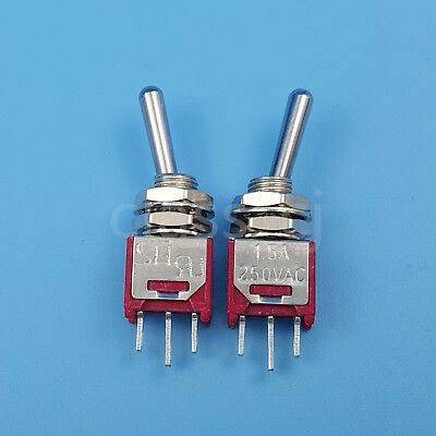 1pc 3Pin Miniature Toggle Switch Good Quality Switches Electrical Equipment J/&C