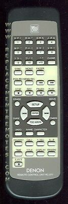 Original DENON Remote Control for  DMD550N
