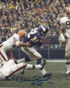 half off 59292 db8bb Details about Signed 8x10 OSCAR REED Minnesota Vikings Autographed photo -  w/COA