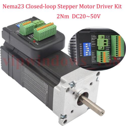 NEMA23 283oz-in 2Nm Integrate Closed Loop Stepper Motor Replace JMC iHSS57-36-20