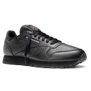 REEBOK-CLASSIC-2267-LEATHER-SHOES-BACK-TO-SCHOOL-SNEAKERS-TRAINERS-BRITISH-BLACK