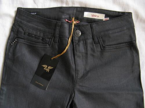 Waist Leg Are W28 We Jeans Flare Regular Replay Damen l34 Normal Schlag Stretch S7zq1zadw