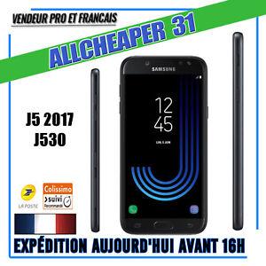 Samsung-Galaxy-J5-2017-J530F-Noir-Neuf-Garantie-2-ans-13-MPIXEL-debloque-4G-LTE