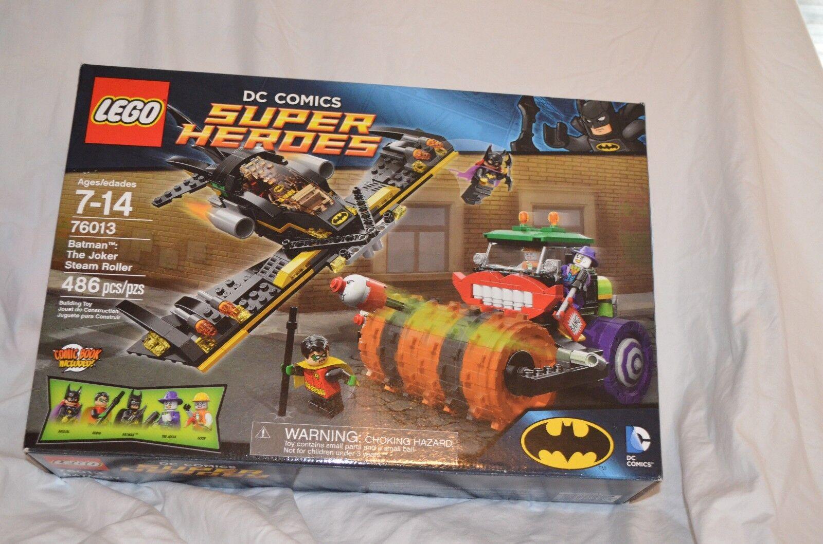 Lego Bathomme Le Joker rouleau compresseur  76013 SCELLÉ retraités Building Set  design simple et généreux
