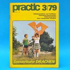 DDR practic 3/1979 Drachen Tischfußball Bootsantrieb Farbfilme entwickeln B