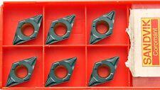 6 Wendeschneidplatten Wendeplatten Sandvik DCMT 11T308-PF 4225 DCMT 3(2.5)2-PF