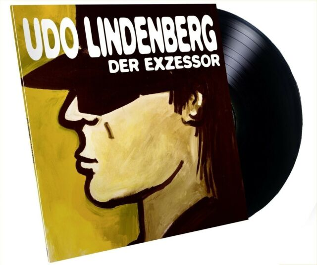 UDO LINDENBERG - DER EXZESSOR  VINYL LP NEU