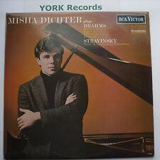 SB 6773 - MISHA DICHTER - Brahms & Stravinsky Recital - Excellent Con LP Record