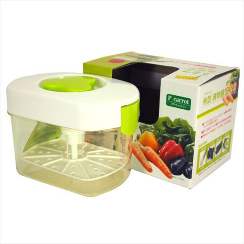 2.2 Liter Japanese Plastic Pickle Maker Tsukemono Press Container Made in Japan