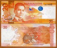 Philippines, 20 Piso, 2010, Pick 206a, UNC