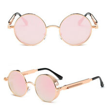 9ffeeb4d136 Fashion Mens Sunglasses Retro Design Round Sun Glasses Steampunk Shades  Women