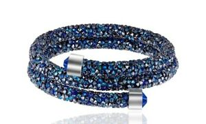 Crystal-Double-Wrap-Bracelet-Made-with-Swarovski-Elements-Blue
