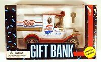 Pepsi Cola Gift Bank Die Cast Limited Edition 1993 Golden Wheel Truck Vtg Metal