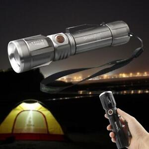 Tactical Police T6 18650 LED Flashlight Aluminum Torch Zoomable Lamp CHL
