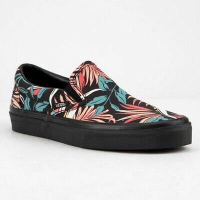 VANS California Floral Hawaiian Classic Slip On Shoes Womens size 10, mens 8.5 | eBay