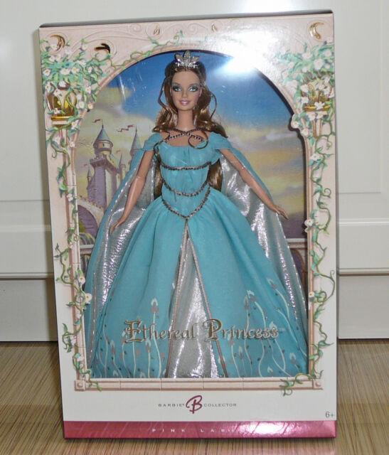 FREE SHIPPING in US Barbie Pink Label Ethereal Princess NB 2006 Mattel J9188