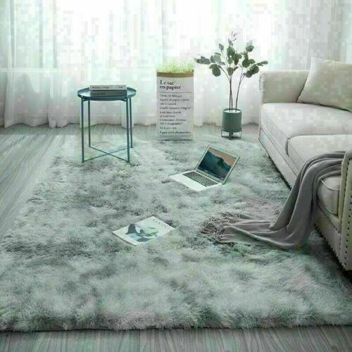 Fluffy Large Carpet Anti-Slip Shaggy Rug Super Soft Mat Living Floor Bedroom
