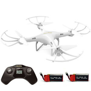 Cheerwing-CW4-Explorers-RC-Quadcopter-Drone-w-HD-Camera-Headless-extra-battery