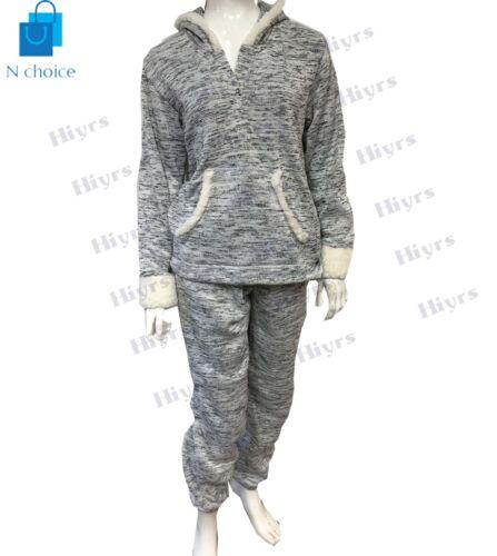 Womens sleepwear tracksuit Pyjama Bodkin Grey Super Soft Nightwear PJ UK lot